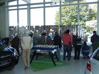 Fotoausstellung im Autohaus